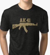 Alvin Kamara AK41  Tri-blend T-Shirt