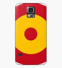 Roundel of the Spanish Air Force Case/Skin for Samsung Galaxy