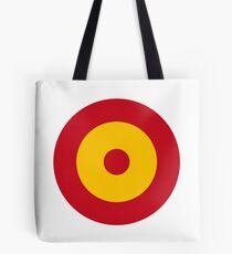 Roundel of the Spanish Air Force Tote Bag
