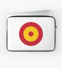 Roundel of the Spanish Air Force Laptop Sleeve