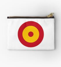 Roundel of the Spanish Air Force Zipper Pouch