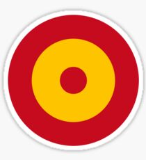 Roundel of the Spanish Air Force Sticker