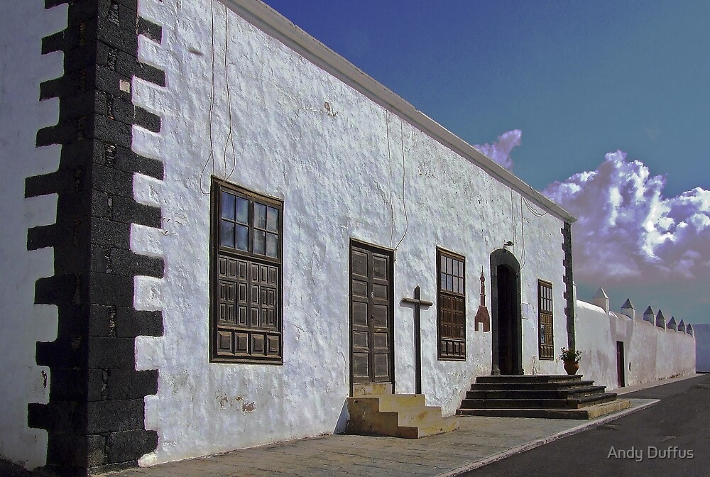 Teguise Church by Andy Duffus