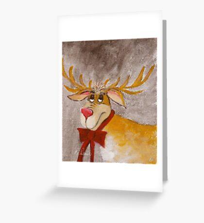 Mr. Reindeer Greeting Card