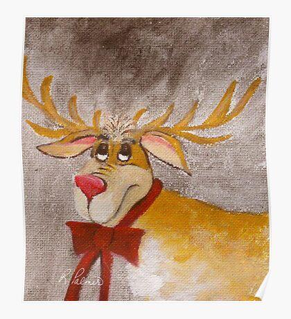 Mr. Reindeer Poster