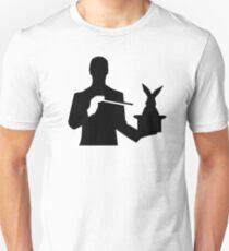 Magician top hat rabbit Unisex T-Shirt