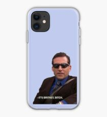 michael scott, the office - it's britney, bitch iPhone Case