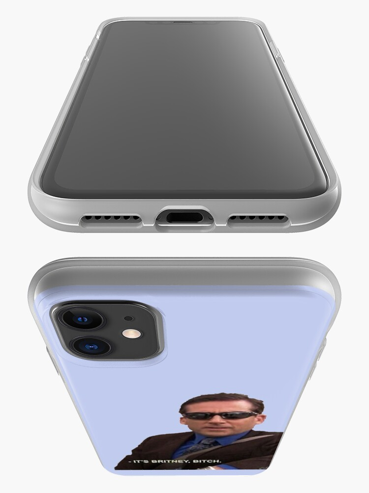 Alternate view of michael scott, the office - it's britney, bitch iPhone Case & Cover