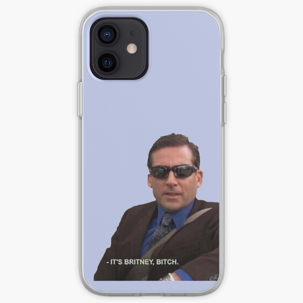 michael scott, the office - it's britney, bitch iPhone Case & Cover