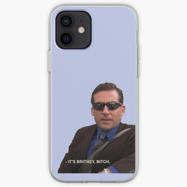 michael scott, the office - it's britney, bitch iPhone Soft Case