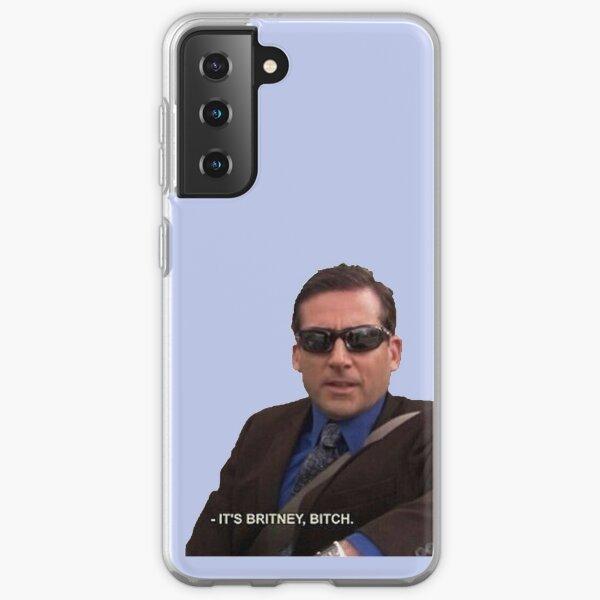 michael scott, the office - it's britney, bitch Samsung Galaxy Soft Case