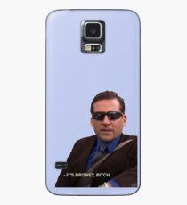Funda/vinilo para Samsung Galaxy michael scott, la oficina - es britney, perra