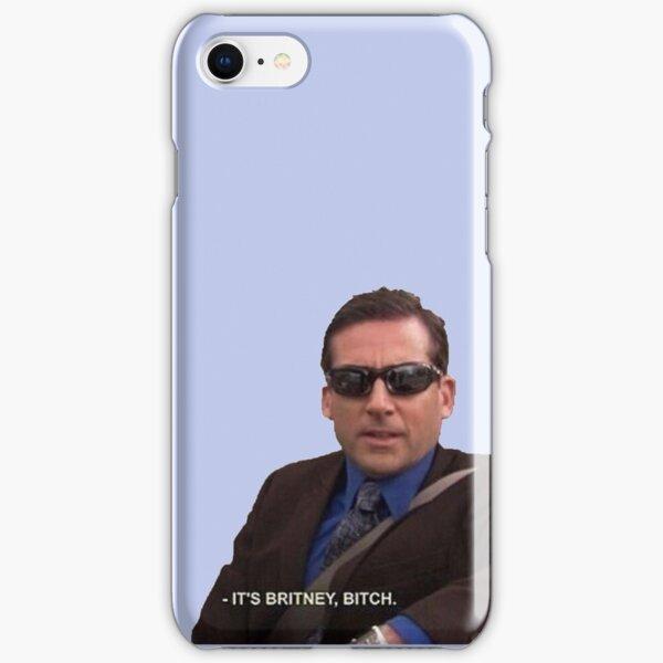 michael scott, the office - it's britney, bitch iPhone Snap Case