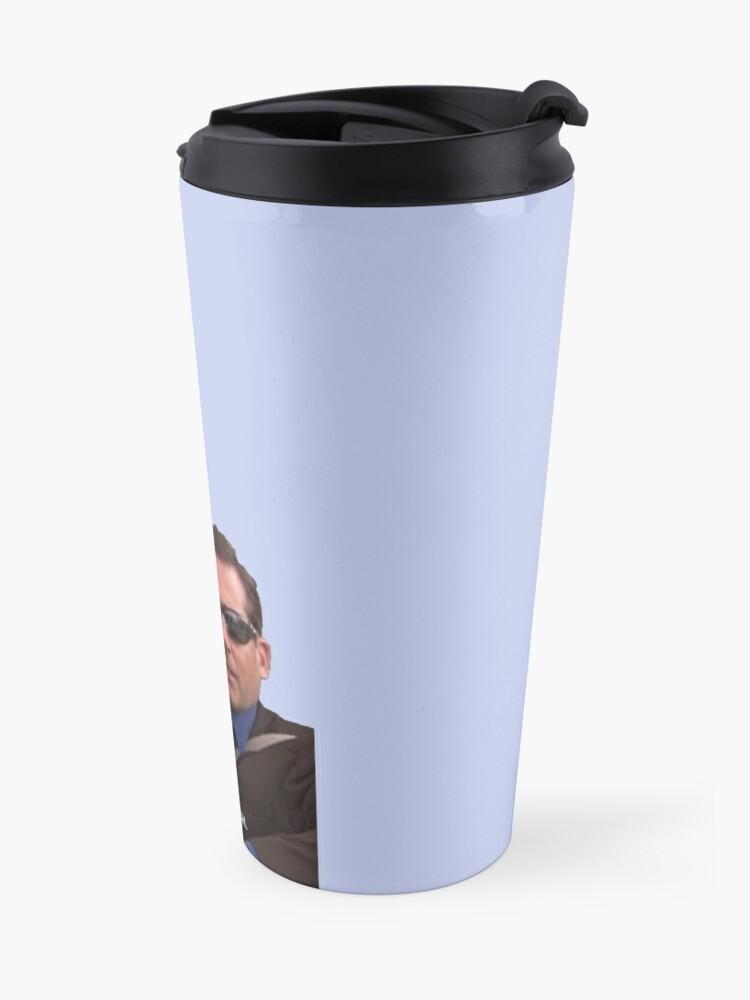 Alternate view of michael scott, the office - it's britney, bitch Travel Mug