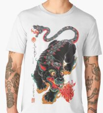 Japanese Folklore Dragon Men's Premium T-Shirt