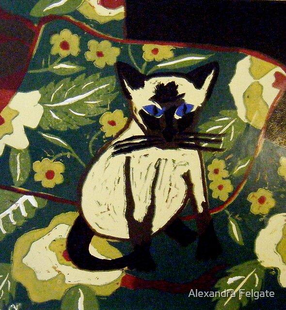 Siamese Kitten by Alexandra Felgate