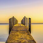 Quindalup Jetty by Jan Fijolek