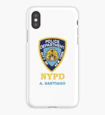 santiago badge iPhone Case/Skin