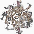 zombie circle by TysonTaumaoe