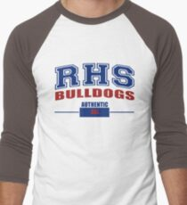 Riverdale Bulldogs - Authentic Men's Baseball ¾ T-Shirt
