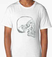 Funny Beer on the Mind Skull Premium T-Shirt Long T-Shirt