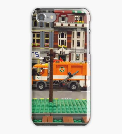 Lego Village, Greenberg's Train and Toy Show, Edison, New Jersey  iPhone Case/Skin