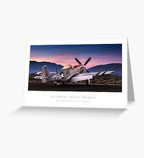 "P-51 Mustang ""Sizzlin Liz"" Greeting Card"