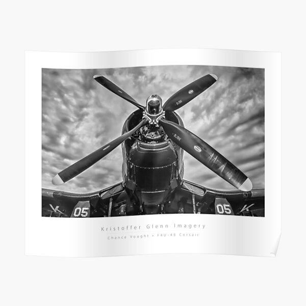 Chance Vought F4U Corsair Poster