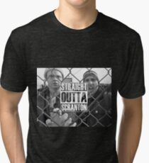 Straight Outta Scranton Tri-blend T-Shirt
