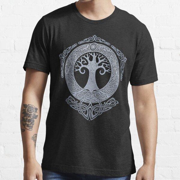SILVER YGGDRASIL Essential T-Shirt