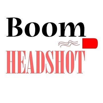 Boom headshot by designmayvary