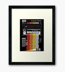 analogue classix Framed Print