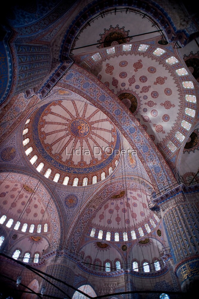 Blue Mosque 1 by Lidia D'Opera