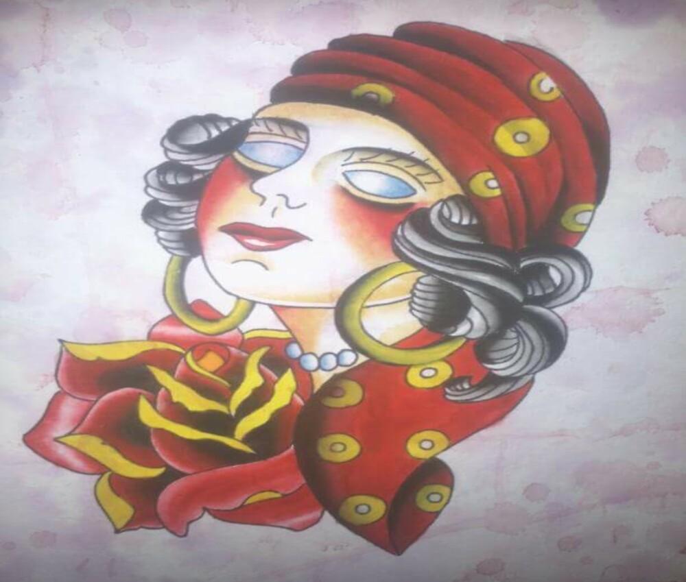 Vintage Lady by JoshConwayArt