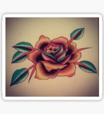 Traditional Rose Sticker