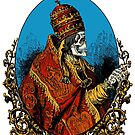 The skull faced pope by monsterplanet