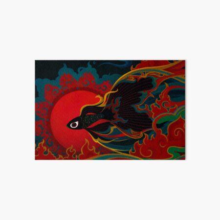 Fire fish Art Board Print