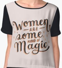 Women are Some Kind of Magic - The Princess Saves Herself in This One Chiffon Top