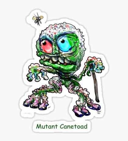Mutant Canetoad  Sticker