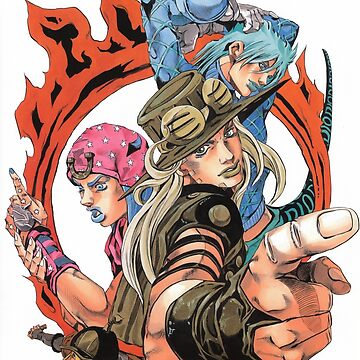 jojo SBR Johnny, Gyro & DIO by VAP0RWEAR