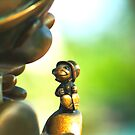 Bronze Pinocchio by harborhouse55