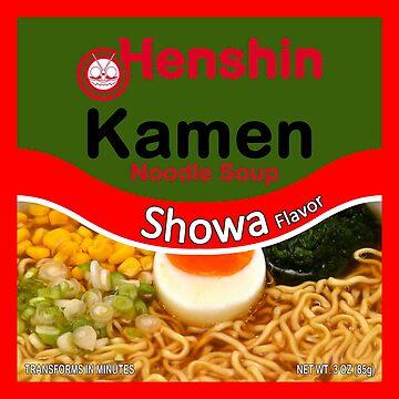 Henshin Brand Transforming Noodles by CrookBu41