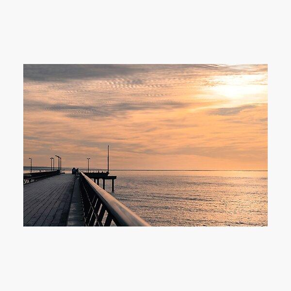 lorne pier, great ocean road, victoria, australia Photographic Print