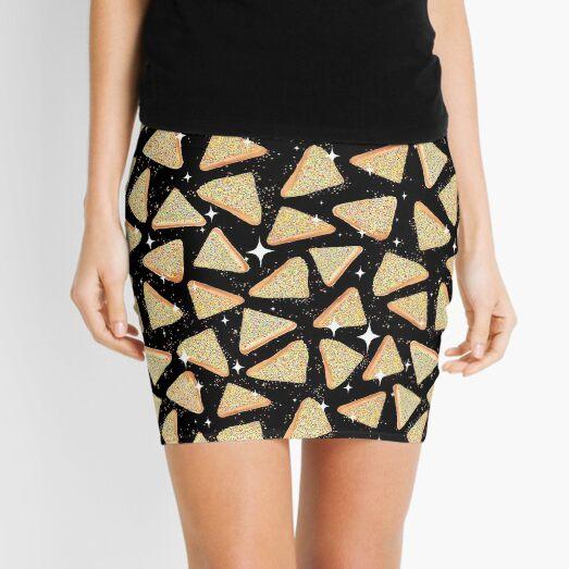 Cosmic Fairy Bread - Black - NEW Mini Skirt