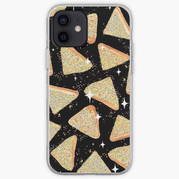 Cosmic Fairy Bread - Black - NEW iPhone Soft Case