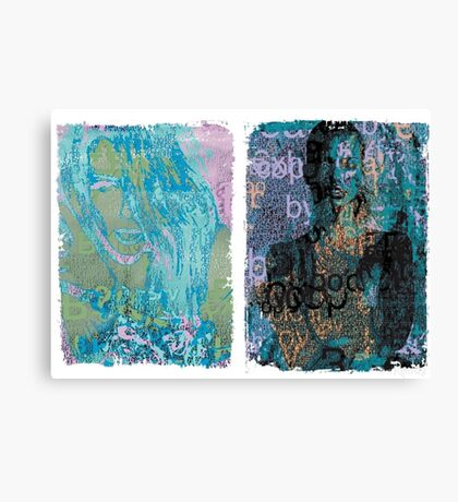 Incarnata Diptych #30 Canvas Print