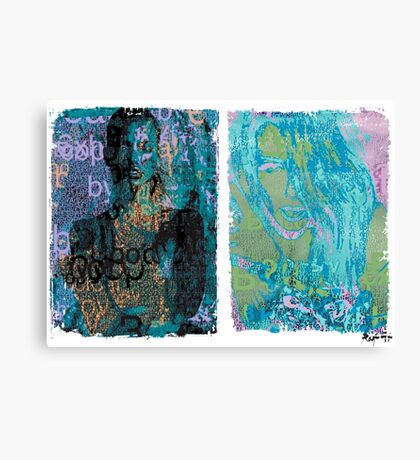Incarnata Diptych #20 Canvas Print
