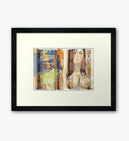 Incarnata Diptych #19 Framed Print