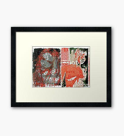 Incarnata Diptych #18 Framed Print