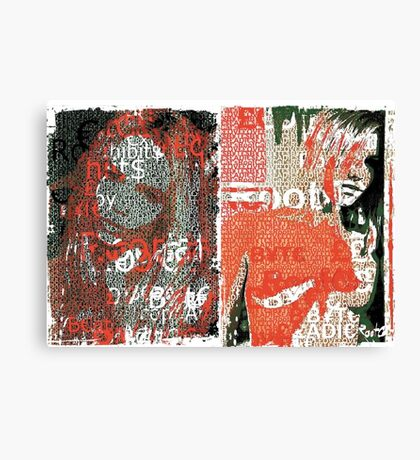 Incarnata Diptych #18 Canvas Print